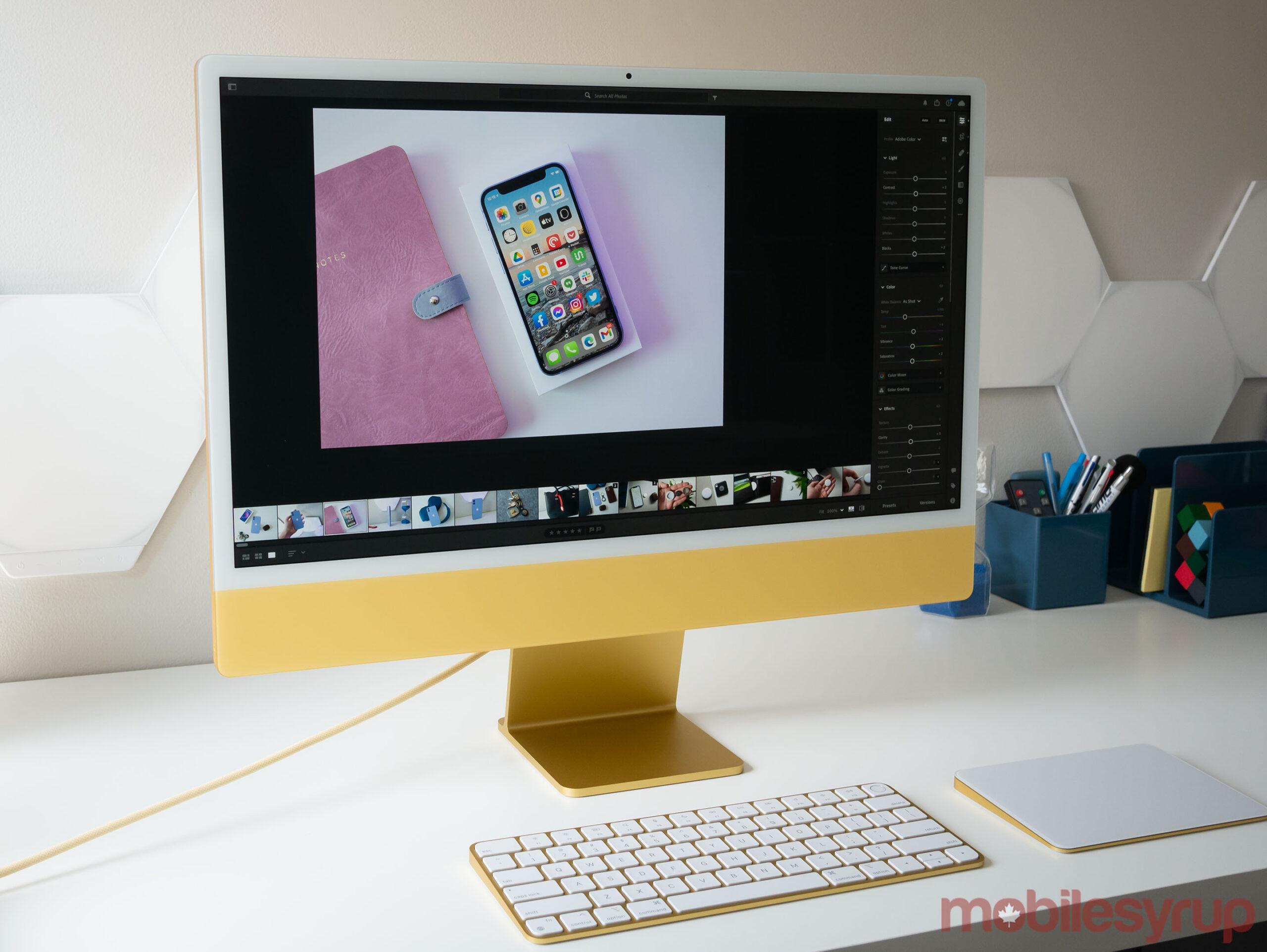 24-inch iMac 2021 Lightroom CC