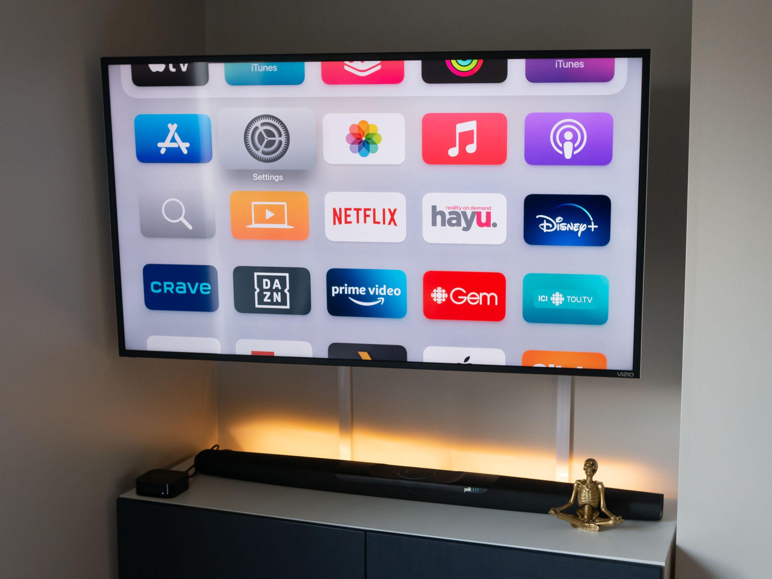 Apple TV 4K 2021 menu