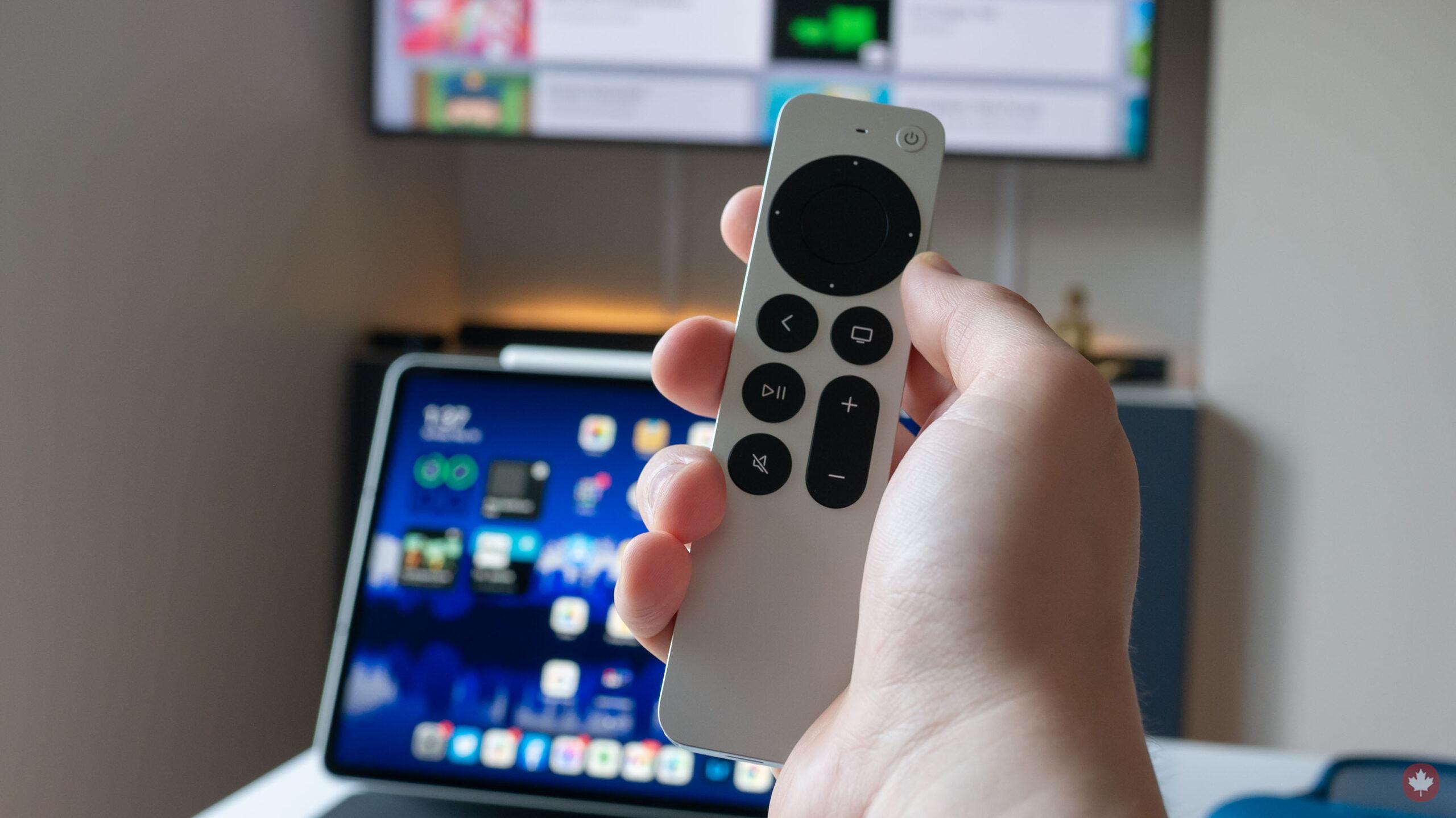 Apple TV 4K (2021) remote