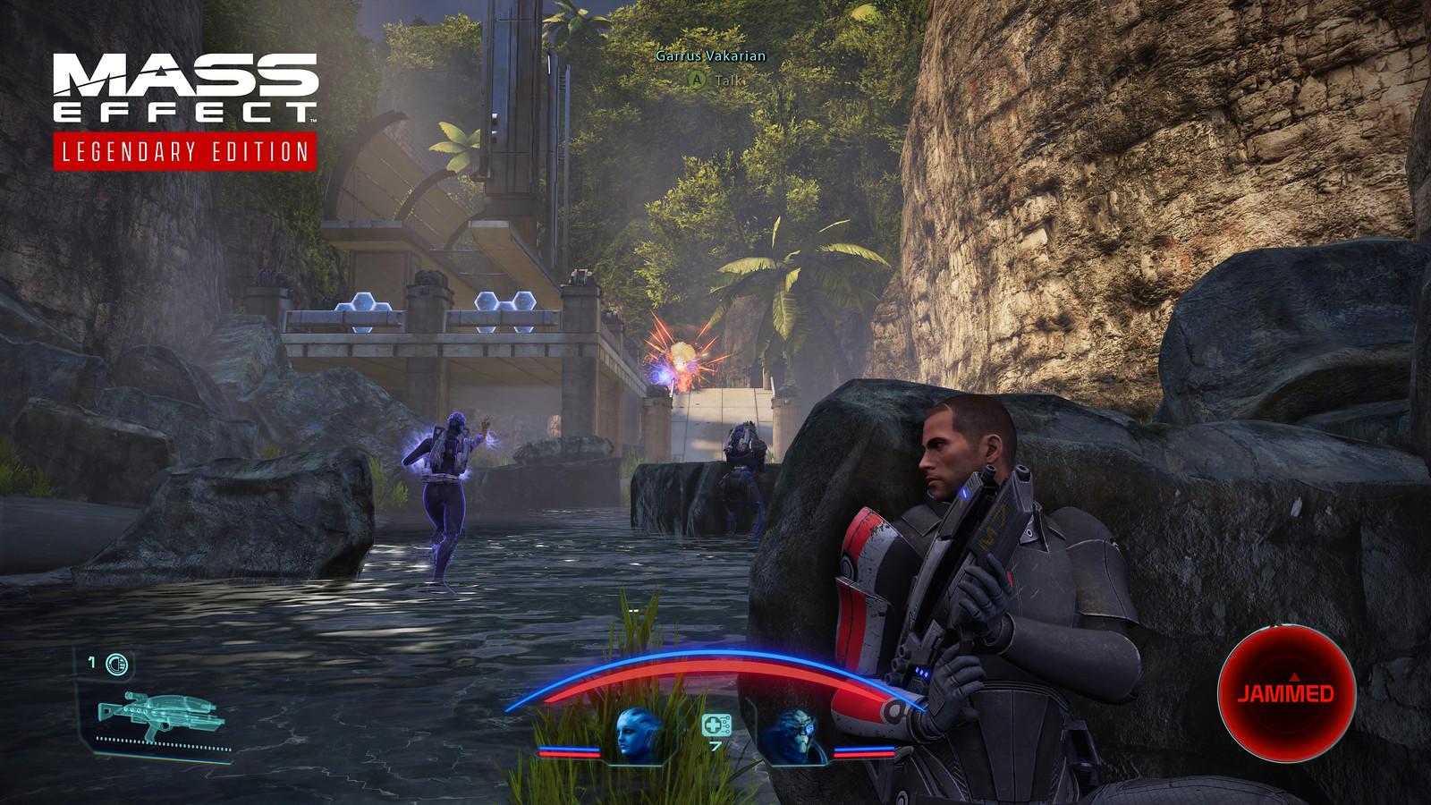 Mass Effect Legendary Edition combat